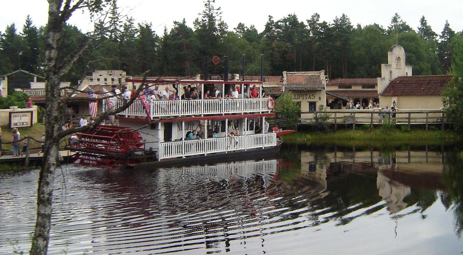 high chaparral big bengt riverboat flodbåt hjulångare