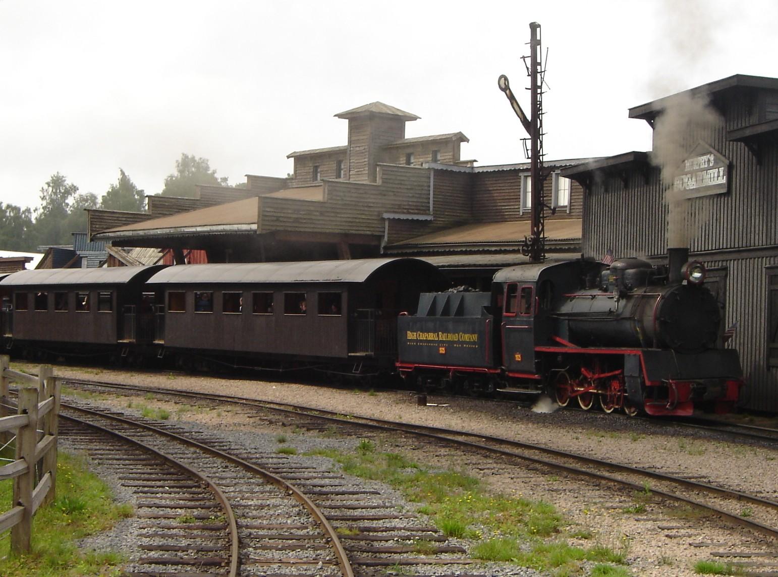 high chaparral big bengt järnväg railroad