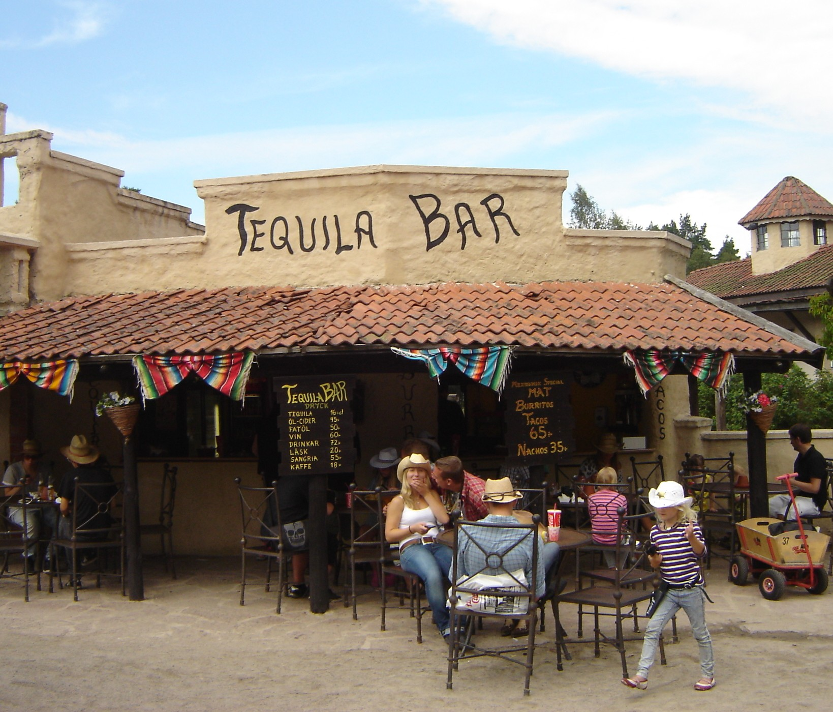 tequila bar high chaparral big bengt mexico
