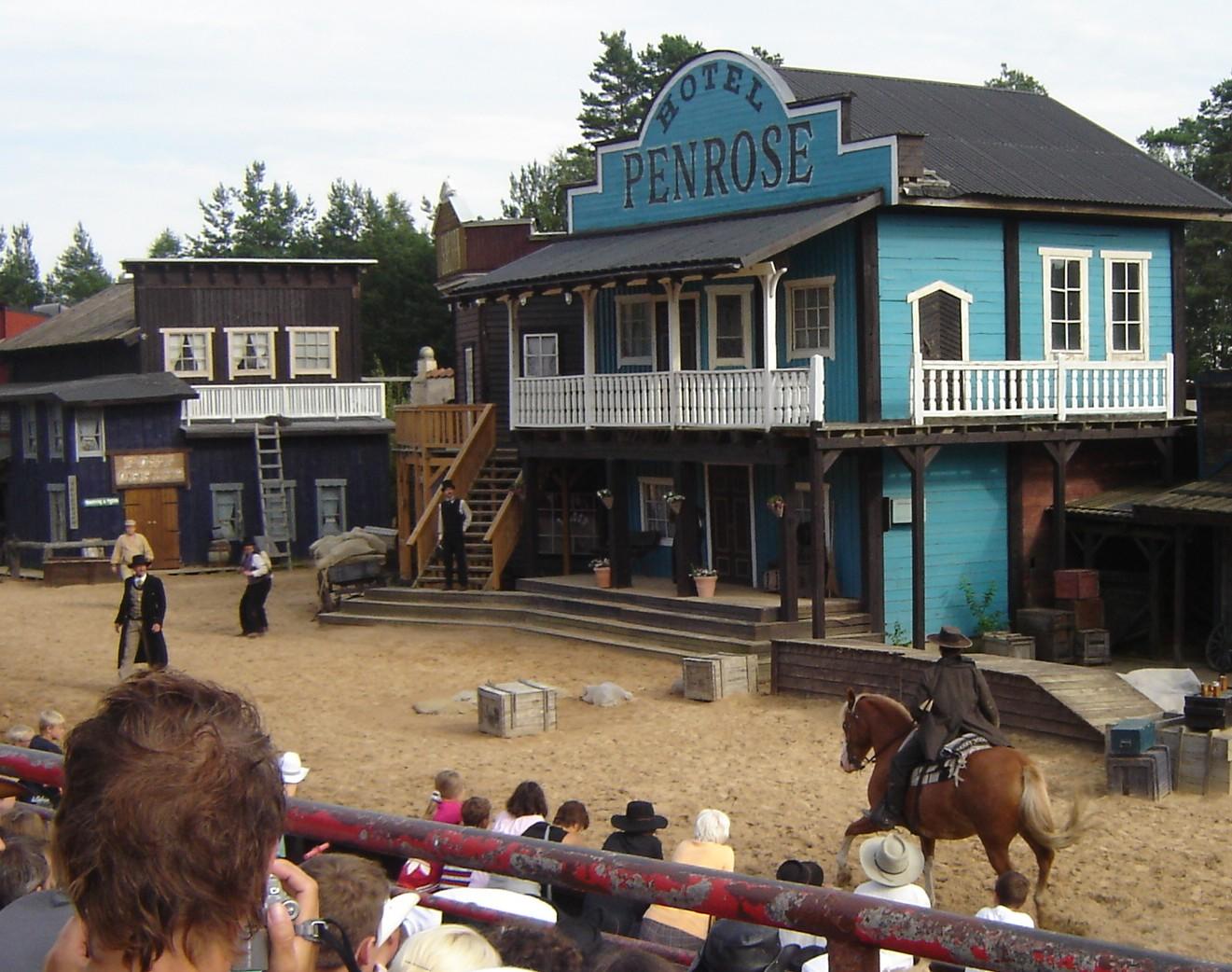 show cowboys high chaparral big bengt